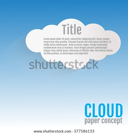 Cloud Icon Vector, EPS. Cloud Icon JPEG. Cloud Icon Object. Cloud Icon Picture. Cloud Icon Image. Cloud Icon Graphic. Cloud Icon Art. Cloud Icon JPG. Element with place for your text. - stock vector