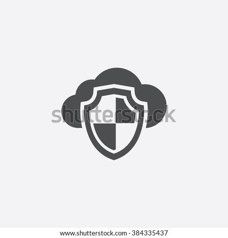 cloud shield Icon. cloud shield Icon Vector. cloud shield Icon Art. cloud shield Icon eps. cloud shield Icon Image. cloud shield Icon logo. cloud shield Icon Sign. cloud shield Icon Flat - stock vector