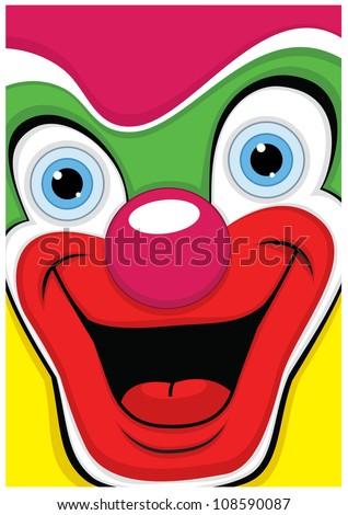 Clown vector illustration - stock vector