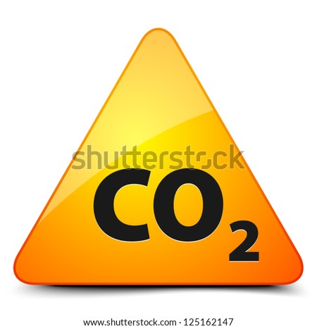 CO2 Hazard - stock vector