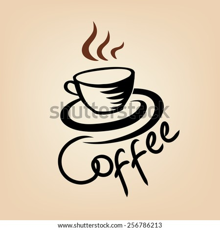 Coffee background. Coffee house concept. - stock vector