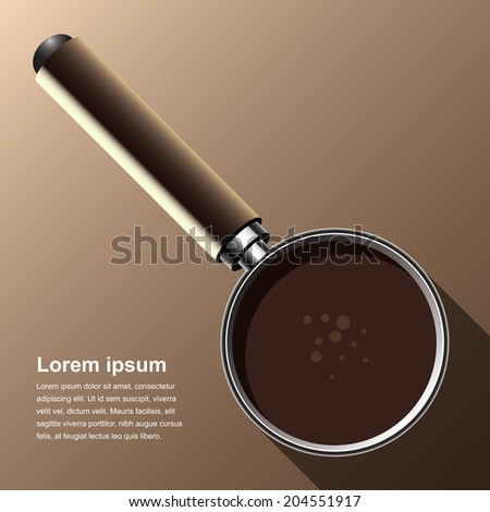 Coffee brew equipment background - stock vector