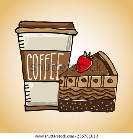 coffee design - stock vector