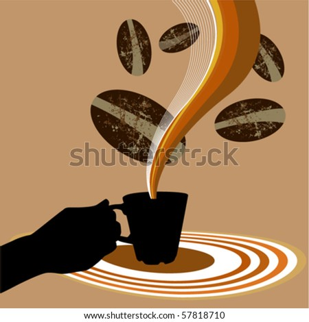 coffee design - stock vector