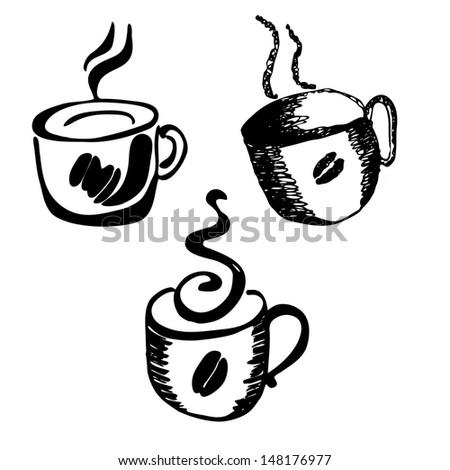 coffee  design elements - stock vector