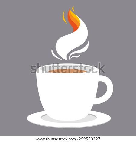 Coffee design vintage  - stock vector