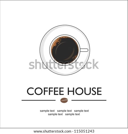 Coffee house - stock vector