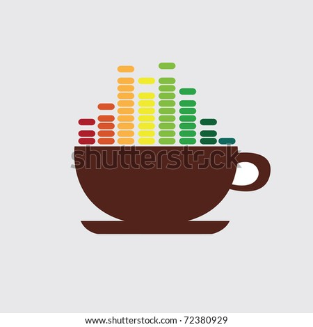 Coffee illustration - stock vector