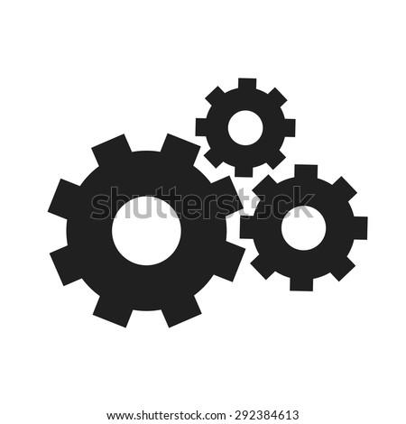 cogs gears vector - stock vector