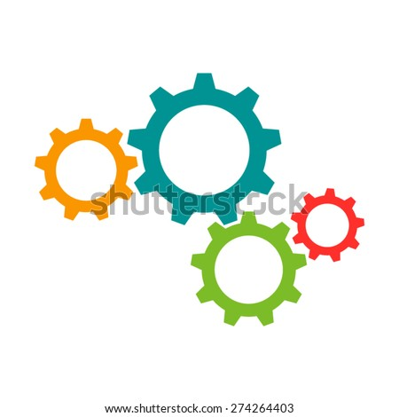Cogwheel Icon, cogwheel icon flat, cogwheel icon picture, cogwheel icon vector, cogwheel icon EPS10, cogwheel icon graphic, cogwheel icon object, cogwheel icon JPEG, cogwheel icon picture - stock vector
