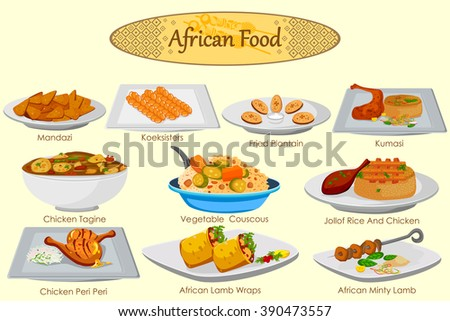 African cuisine stock illustrations cartoons shutterstock for Art and appetite american painting culture and cuisine