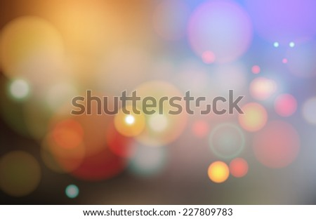 Color Abstract Blurred backgrounds . Vector Illustration  - stock vector