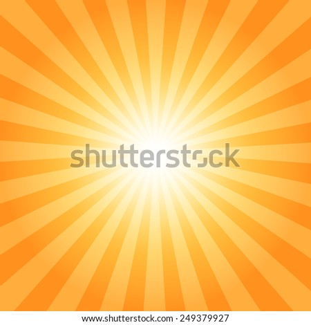 color burst background - stock vector