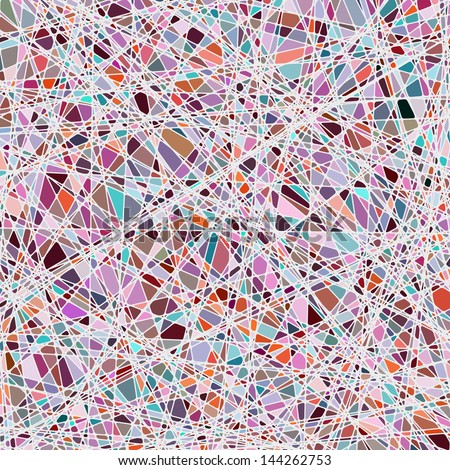 Color mosaic background. EPS 10 vector file included - stock vector