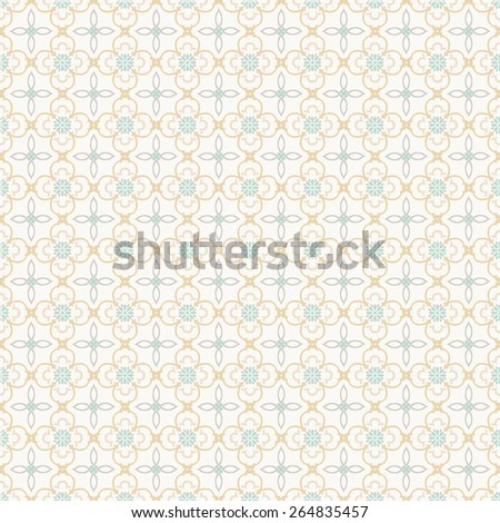 Color ornament seamless pattern. Vector abstract background. - stock vector