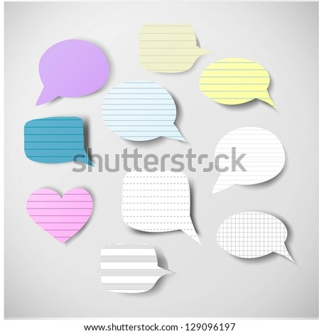 Color pencils isolated on white background close up. Vector illustration. - stock vector