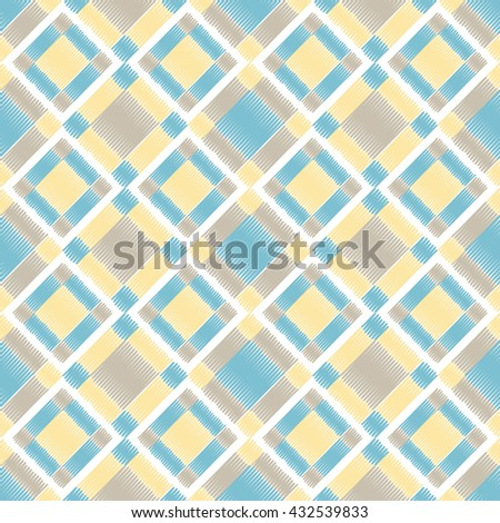 Color seamless geometric pattern. Colored diamonds. EPS 10 - stock vector
