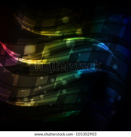 Colored abstract background - stock vector
