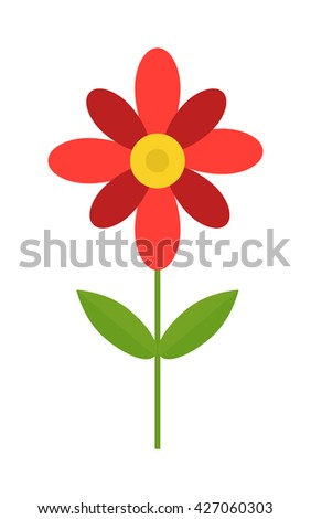 Colored cosmos flowers isolated on white background. Large depth flower isolated and cute flower isolated. Flower isolated beautiful fresh bouquet spring decoration. Asteraceae inflorescence flower. - stock vector