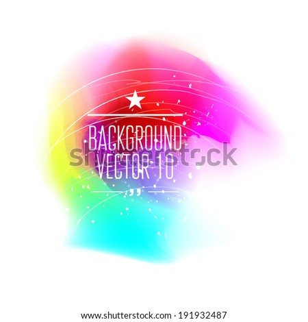 Colorful abstract background for business artwork. - stock vector