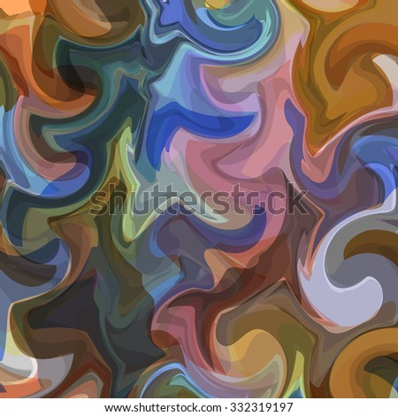 Colorful abstract background for design. Vector eps10 - stock vector