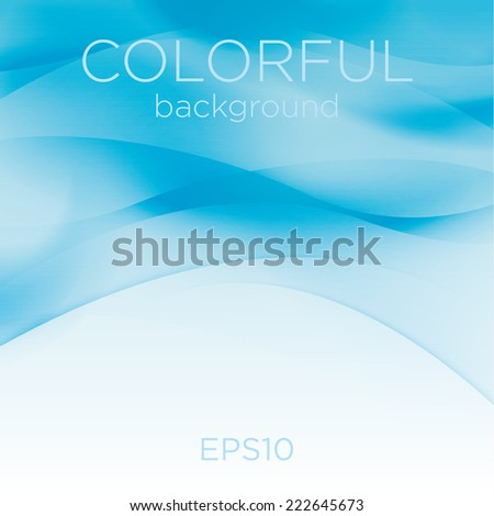 Colorful abstract background, vector - stock vector
