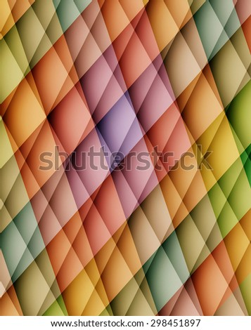 Colorful abstract background with mosaic pattern. Vector illustration - stock vector