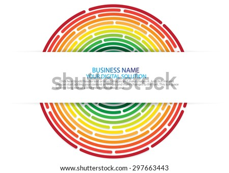 Colorful abstract background with space for your text design - stock vector