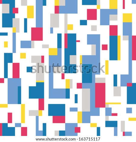 colorful abstract pattern  - stock vector