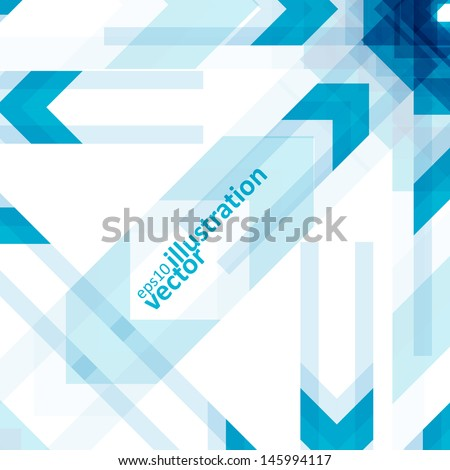 Colorful abstract vector background, futuristic geometric shapes illustration eps10. - stock vector