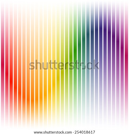 Colorful background stripes on white - stock vector