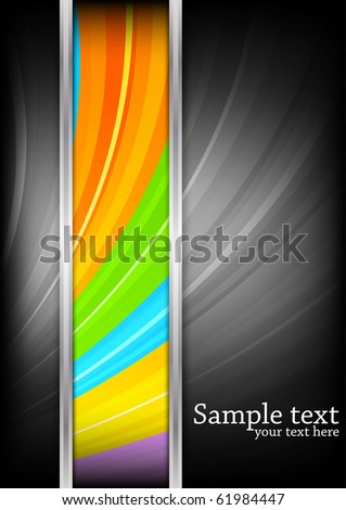 Colorful background. Vector illustration - stock vector