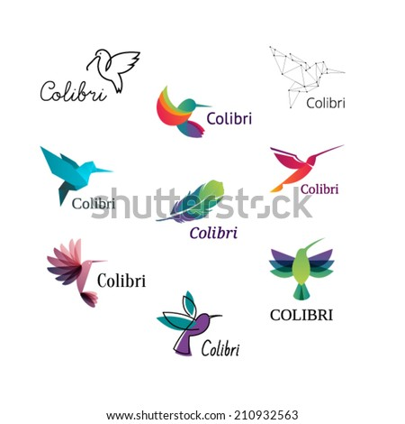 Hummingbird Logo Vector Hummingbird Vector Logo