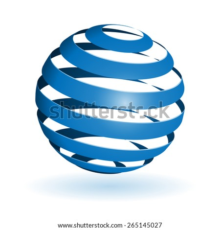 Colorful glossy spheres isolated. Vector illustration for your design.. - stock vector