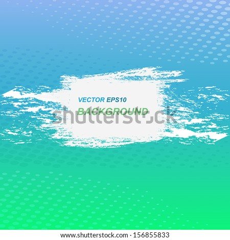 Colorful grunge vector background - stock vector