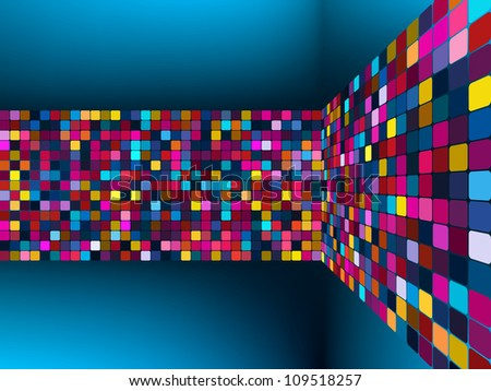 Colorful light vector background. EPS 8 vector file included - stock vector
