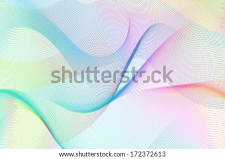 colorful line art background, linear design - stock vector