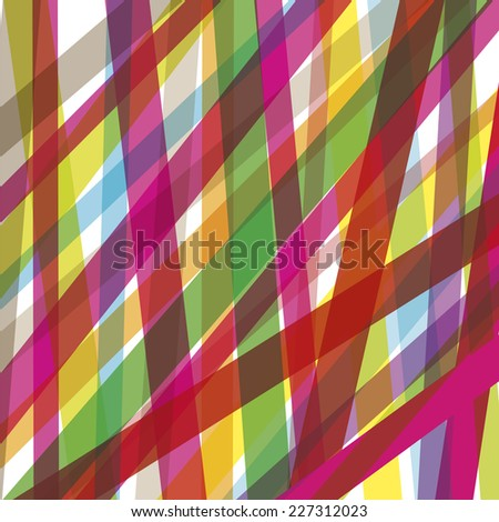 Colorful line background abstract illustration vector - stock vector