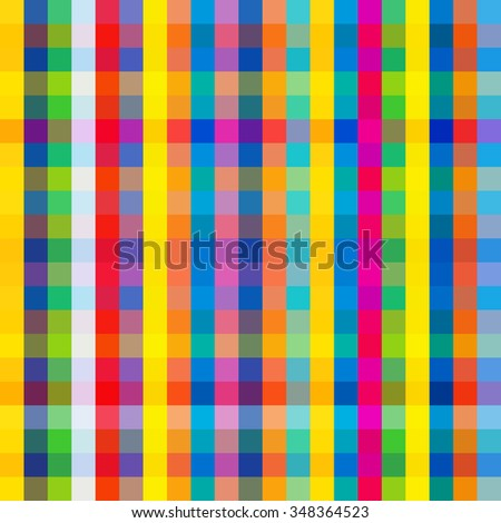 Colorful line pattern. - stock vector