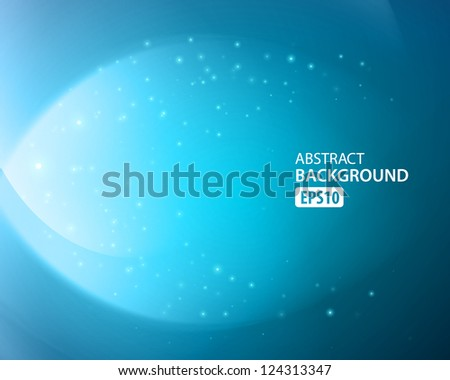 Colorful ocean vector background. - stock vector