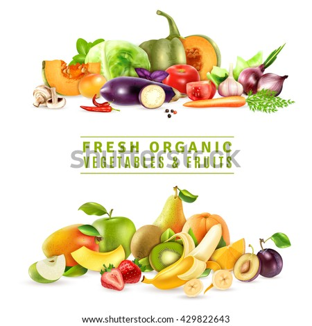 Fruits and vegetables stock photos images pictures for Vegetable design
