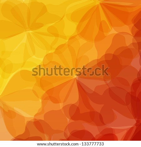 Colorful Original Watercolor Painting Background, Vectors Eps10, Transparent Objects - stock vector