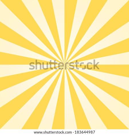 Colorful ray abstract background - stock vector