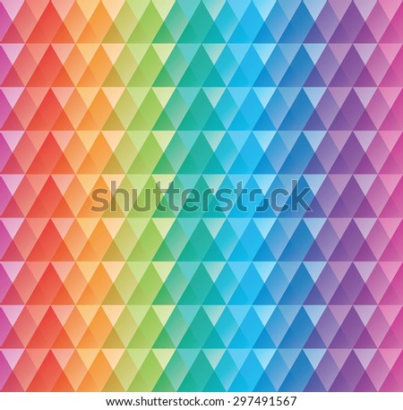 Colorful seamless background. Vector EPS10 tileable pattern. - stock vector