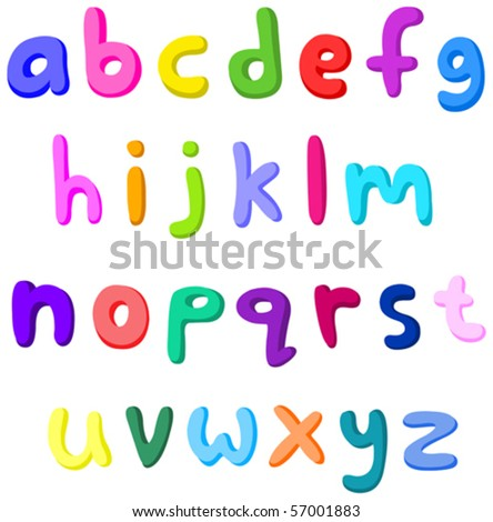 English-letter-small Stock Photos, Images, & Pictures | Shutterstock