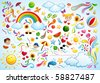 Colorful Summer - stock vector
