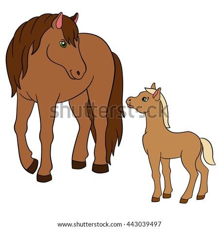 foal stock vectors vector clip art shutterstock