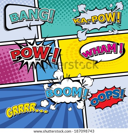 Pop Art Comic Stock Photos Images Pictures Shutterstock