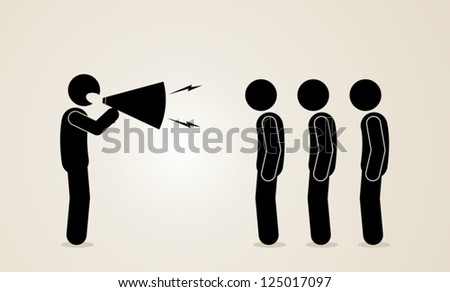 communication - stock vector