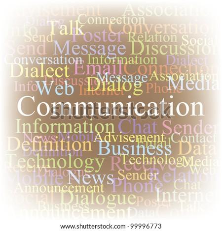 Communication. EPS10 - stock vector